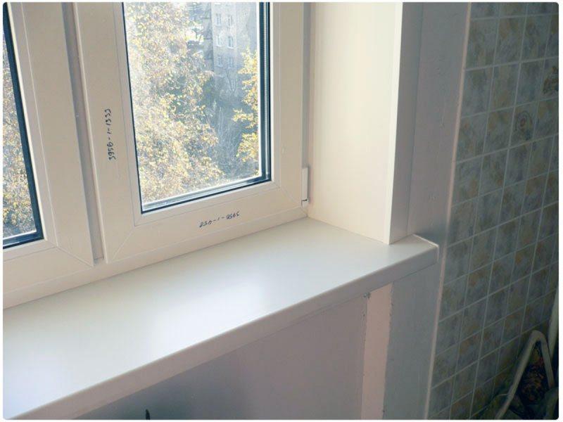 Ustanovka plastikovyih otkosov na okna 39