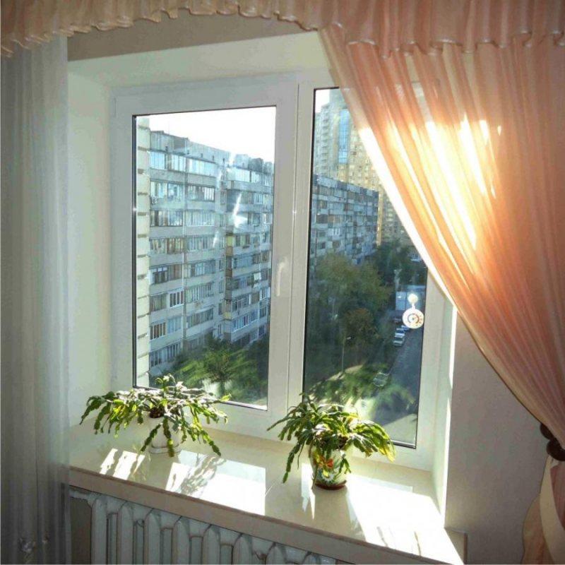 Ustanovka plastikovyih otkosov na okna 40