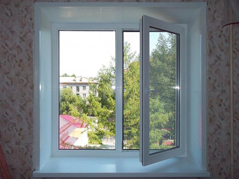 Ustanovka plastikovyih otkosov na okna 42