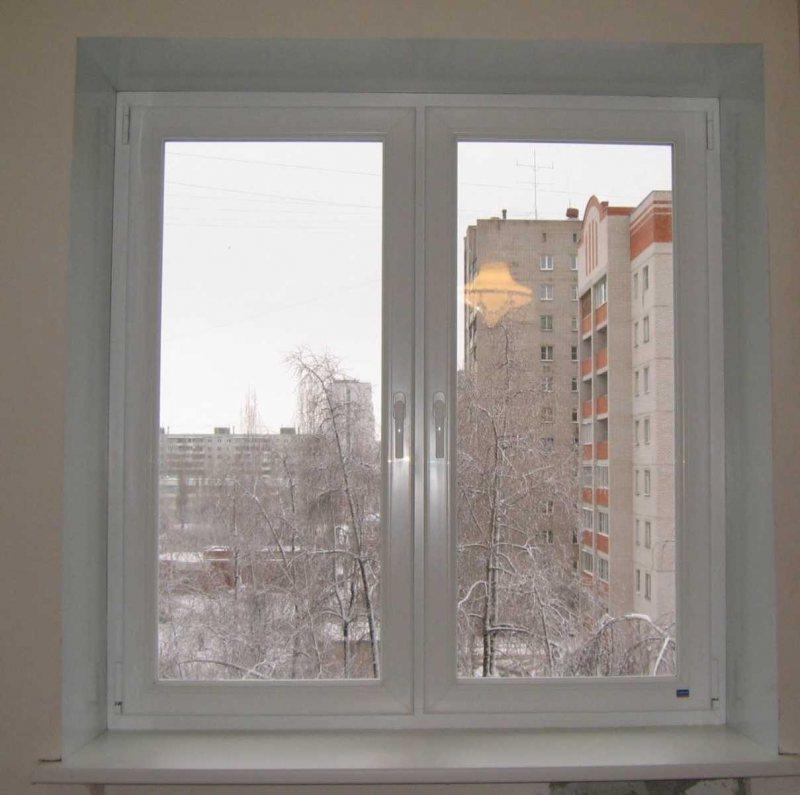 Ustanovka plastikovyih otkosov na okna 43