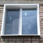 Ustanovka plastikovyih otkosov na okna 5