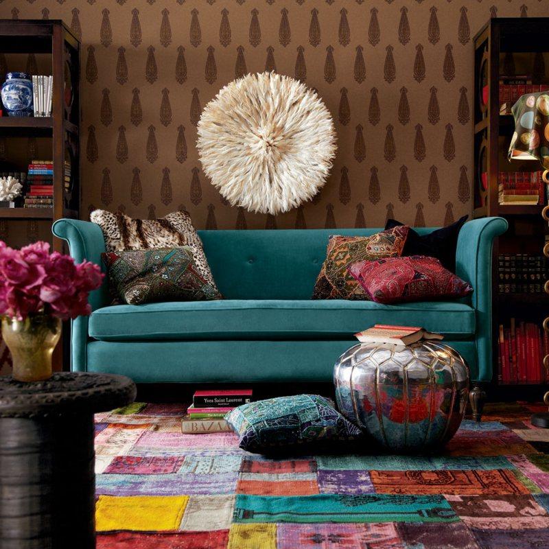 eclectic living room 3